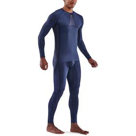 Skins Series-5 LS Top Men, navy blue